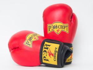 Рэй-Спорт Перчатки для бокса и кикбоксинга