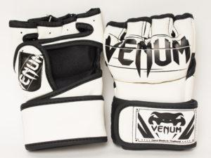 Venum Challenger Перчатки для мма Белый/черный