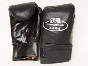 Shuangguan Перчатки для бокса Черный