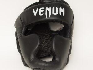 VENUM Elite Neo Боксерский шлем Черный/белый