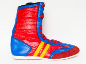 Рэй-Спорт Боксерки высокие синие/красные