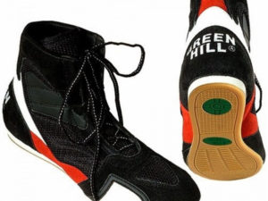 Green Hill Боксерки черные/красные/белые