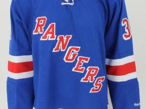 """Reebok """"NY Rangers"""" Хоккейная майка YTH"""
