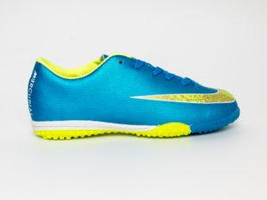 Nike Mercurial Сороконожки Синий