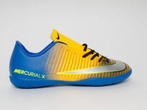Nike Mercurial Victory VI IC Футзалки Синий/желтый