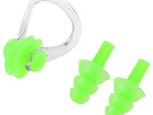 Speedo Зажим для носа + беруши Зеленый