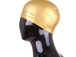 Alpha Caprice Шапочка для плавания Золотой