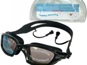 Langzhisha F18482 Очки для плавания с берушами