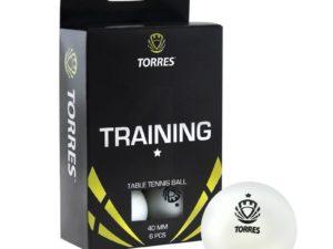 TORRES Training 1 star Мяч для настольного тенниса