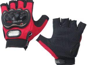 Pro Biker Мотоперчатки без пальцев Красный
