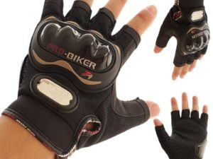 Pro Biker Мотоперчатки без пальцев Черный
