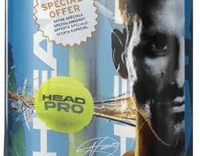 Head Pro Теннисный мяч (1x3шт)