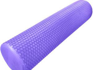 """Hawk Ролик массажный для йоги 60х15 """"Фиолетовый"""""""