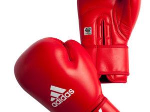 Adidas AIBAG1 Боксерские перчатки Красный