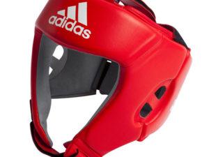 Adidas AIBAH1 Шлем боксерский AIBA Красный