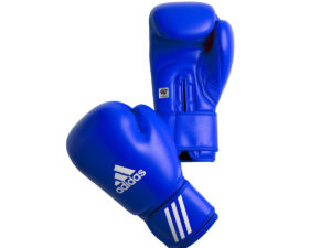 Adidas AIBAG1 Боксерские перчатки Синий
