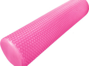 """Hawk Ролик массажный для йоги 60х15 """"Розовый"""""""