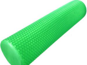 """Hawk Ролик массажный для йоги 60х15 """"Зеленый"""""""