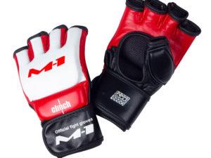 Clinch M1 Global Official Перчатки для мма Белый/красный/черный