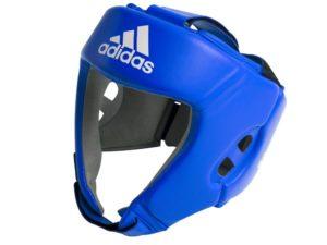 Adidas AIBAH1 Шлем боксерский AIBA Синий