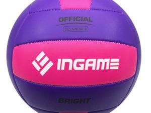 Мяч волейбольный INGAME Bright Розовый