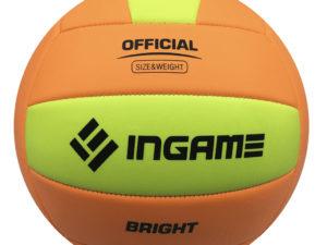 Мяч волейбольный INGAME Bright Оранжевый