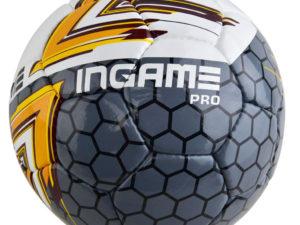 Мяч футбольный INGAME Pro желтый №4