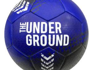 Мяч футбольный INGAME Underground синий №5