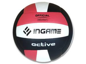 Мяч волейбольный INGAME Active Красный