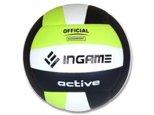 Мяч волейбольный INGAME Active Зеленый