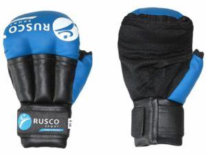 RuscoSport RS009/2 Перчатки для рукопашного боя Синий