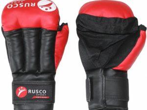 RuscoSport RS009/2 Перчатки для рукопашного боя Красный