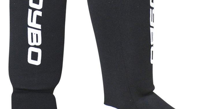 BoyBo Защита голени и стопы черная