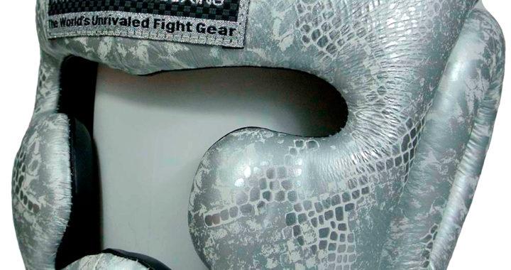 Top King Silver Snake Шлем